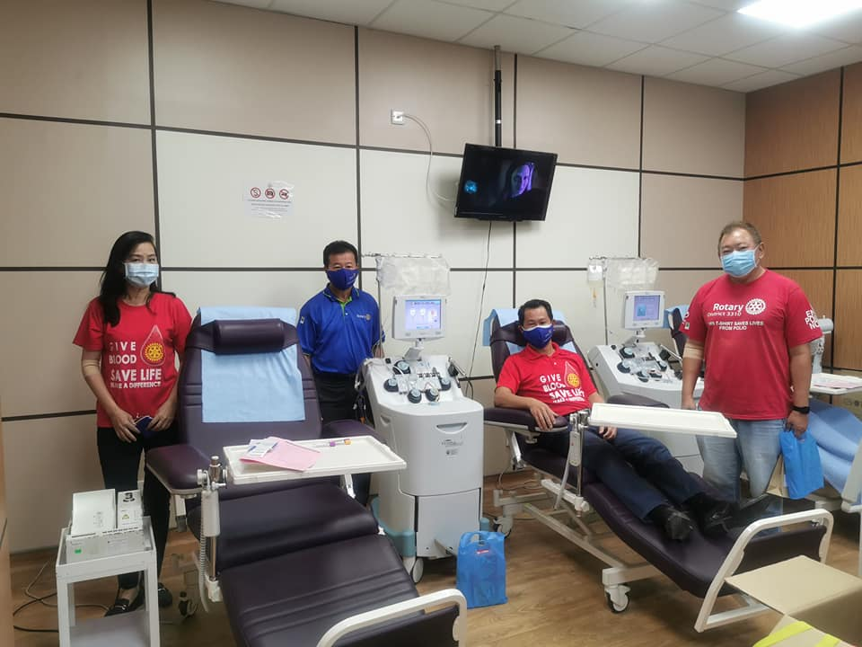 Rotary Blood Donation Drive